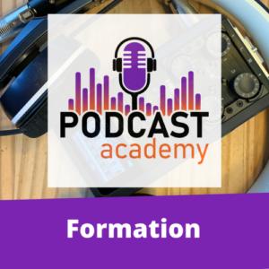 Podcast Academy Session 9 (en ligne)